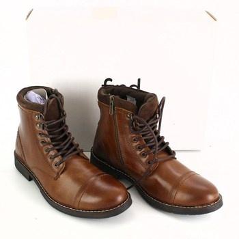 Pánská zimní obuv Find hnědá