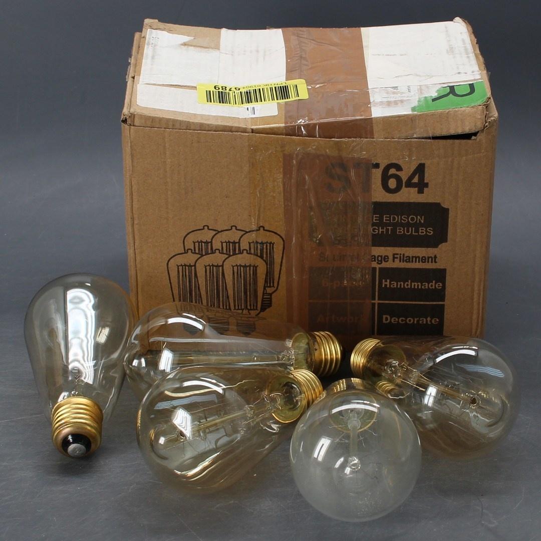 LED žárovky Trounistro Edison Vintage E27