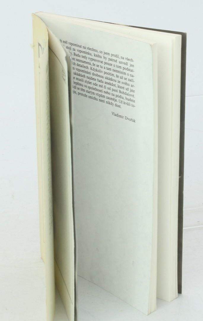 Kniha V. Dvořák: Všechny náhody mého života