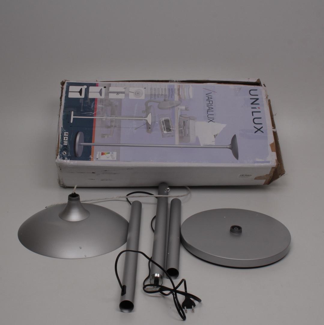 Lampa Unilux Varialux stříbrná