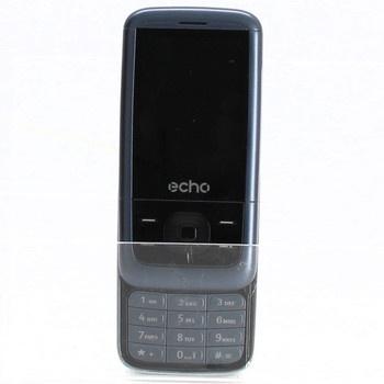 Mobil Echo Slide Dual SIM šedý