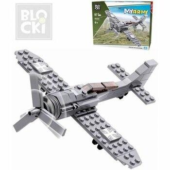 Stavebnice Blocki KB82006 bojové letadlo
