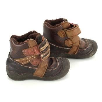 Dětské zimní boty D.D.Step hnědé dd598ec8b6