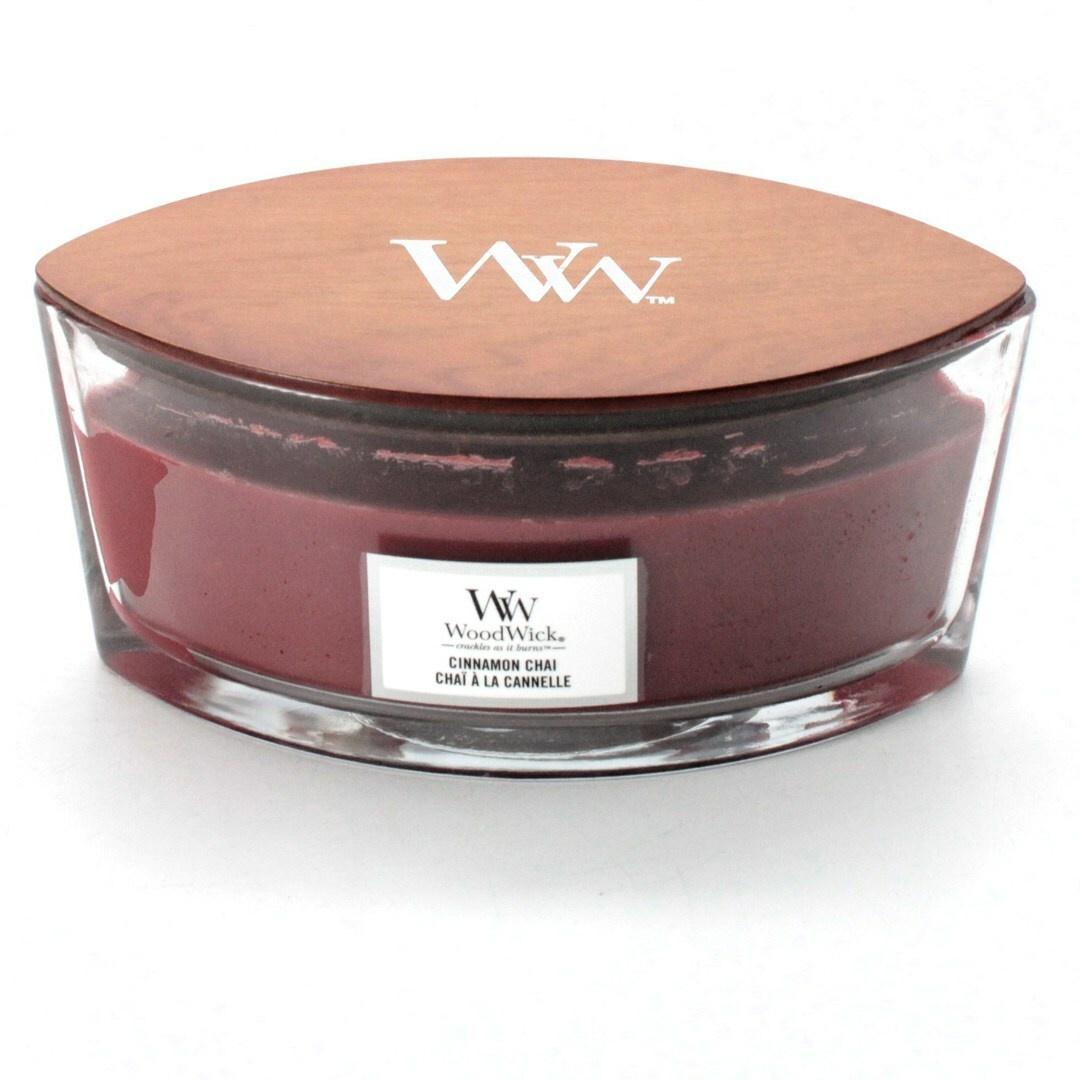 Svíčka WoodWick 76104E skořicová červená