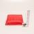 Plastová stolní sukně Amscan Apple červená