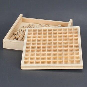 Dřevěná hra Scrabble Small Foot Legler 10952