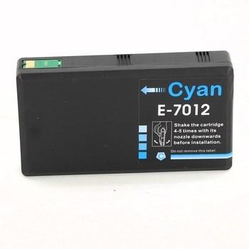 Cartridge Epson T-7012 azurová