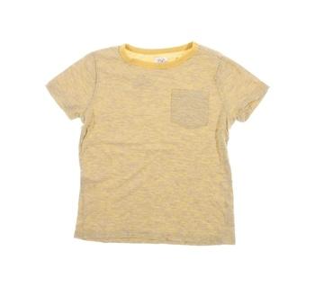 Dětské tričko F&F žluté s kapsičkou