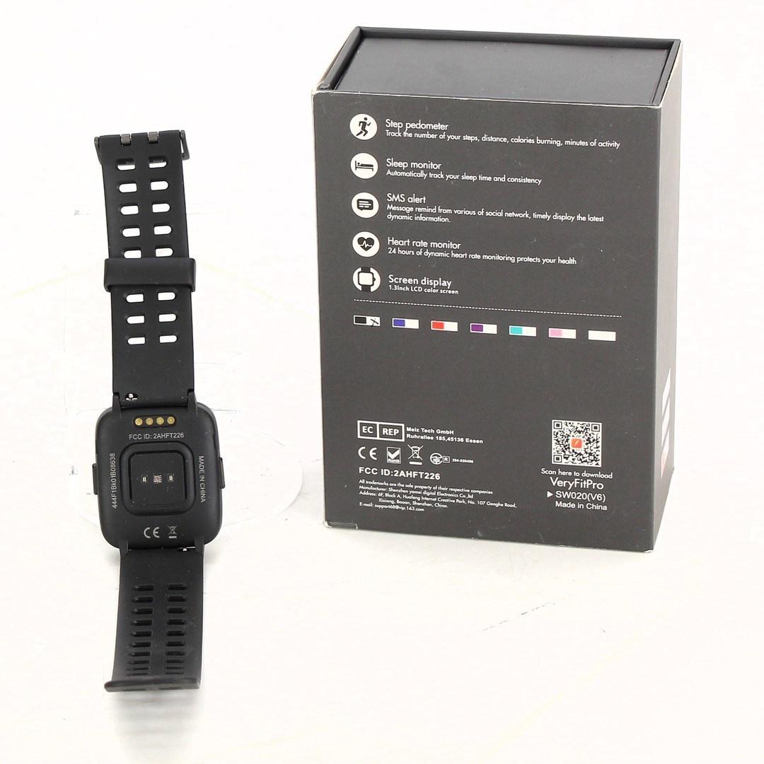 Chytrý náramek Yamay VeryFit Pro SW020 černý