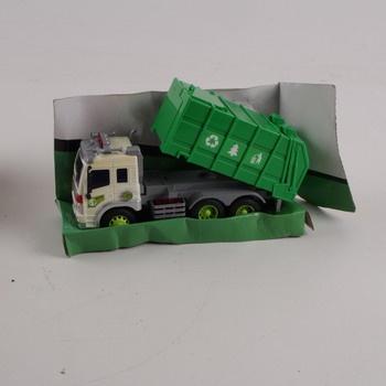 Popelářské auto GearBox zelené