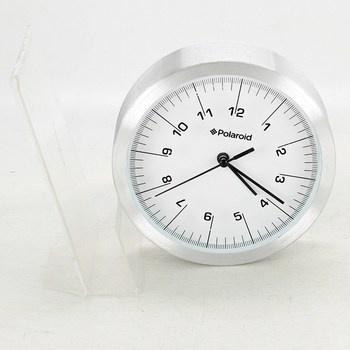 Nástěnné hodiny Polaroid 2032917 stříbrné