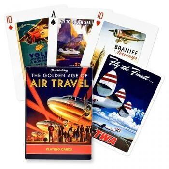 Karetní hra Poker Zlatý věk letecké dopravy