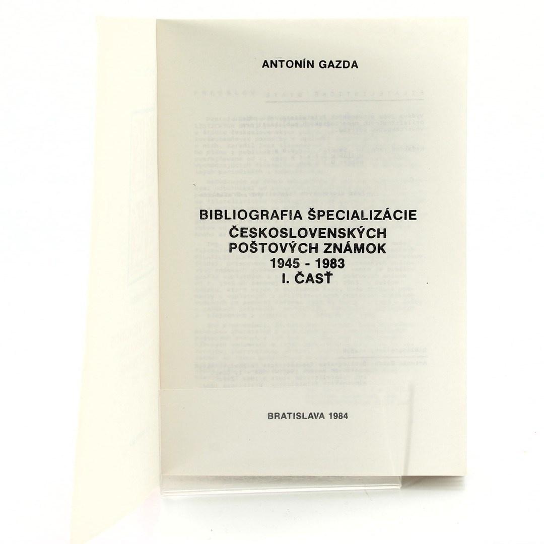 Antonín Gazda: Bibliografia-Poštovné známky