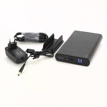 Externí box na HDD FANTEC DB-ALU 3