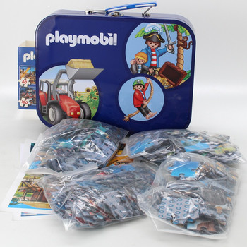 Puzzle Schmidt  Playmobil box 4v1