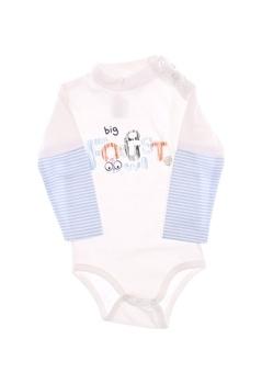 Dětské body Baby bílé barvy