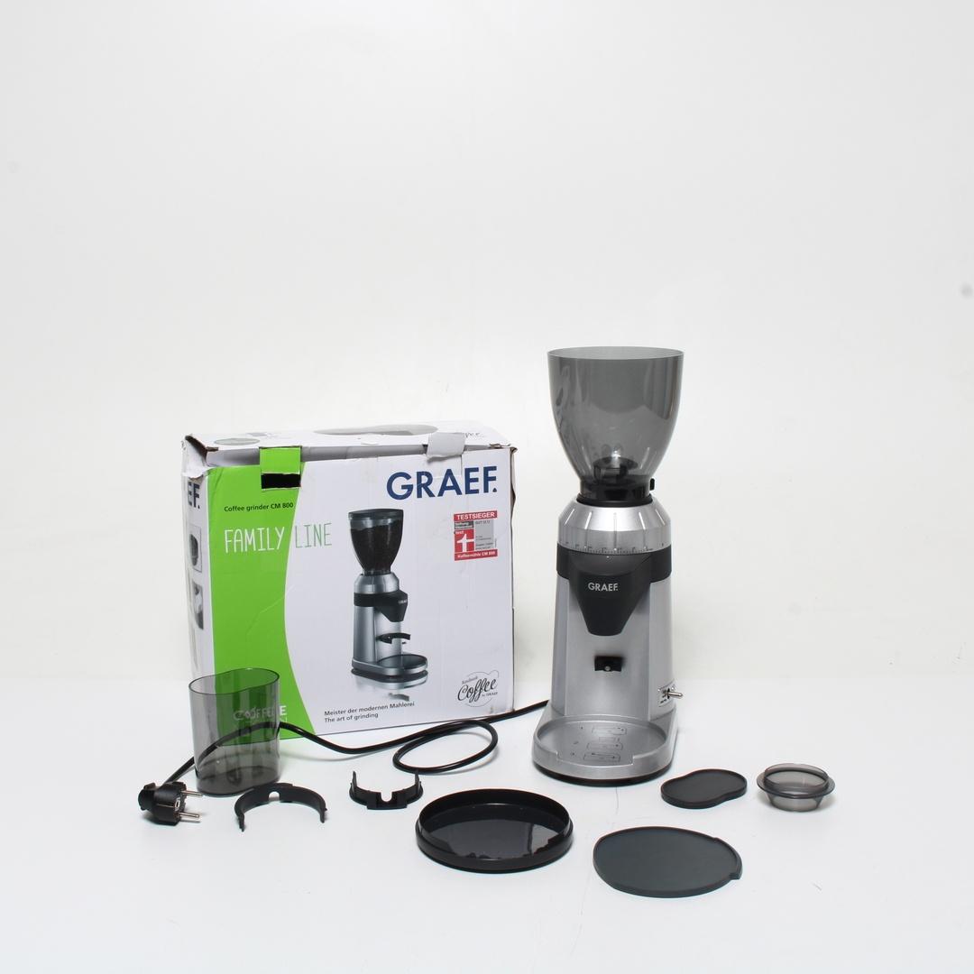 Mlýnek na kávu Graef CM 800