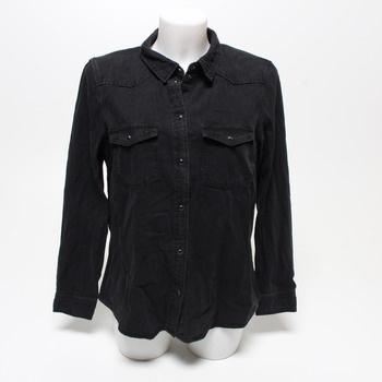 Dámská košile Vero Moda DENIM černá XL