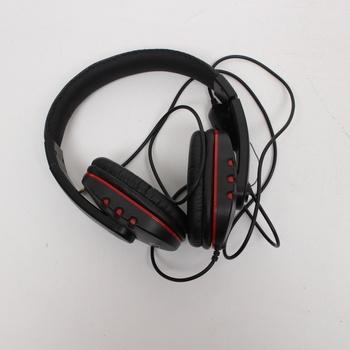 Sluchátka s mikrofonem Diswoe ET1101
