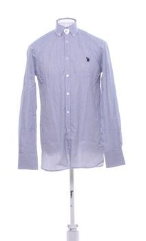 Pánská košile U.S. Polo ASSN 81002S modrá M
