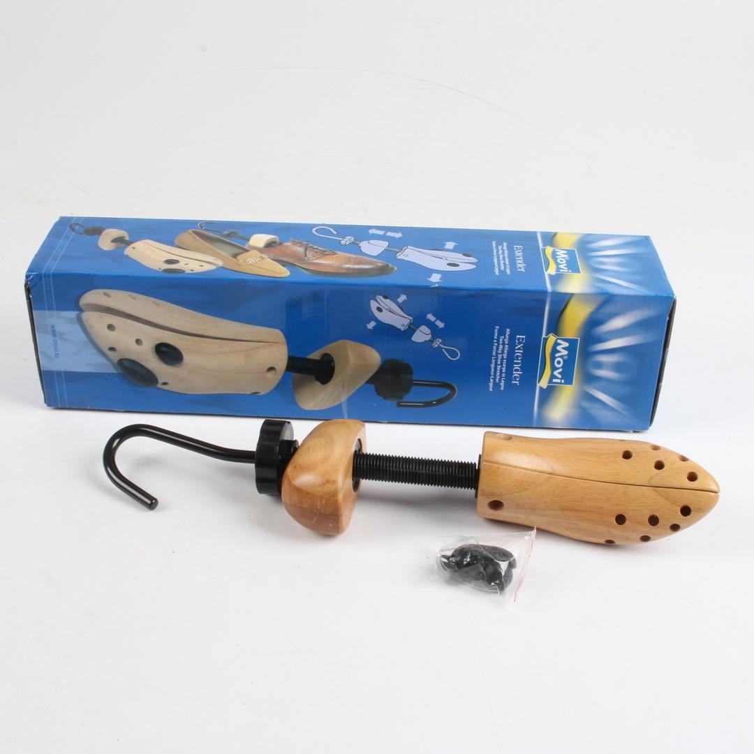 Dřevěný roztahovák obuvi Movi