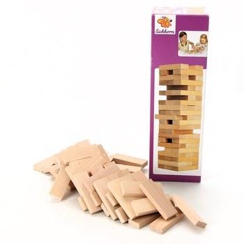 Dřevěná hra - věž Eichhorn Yenga