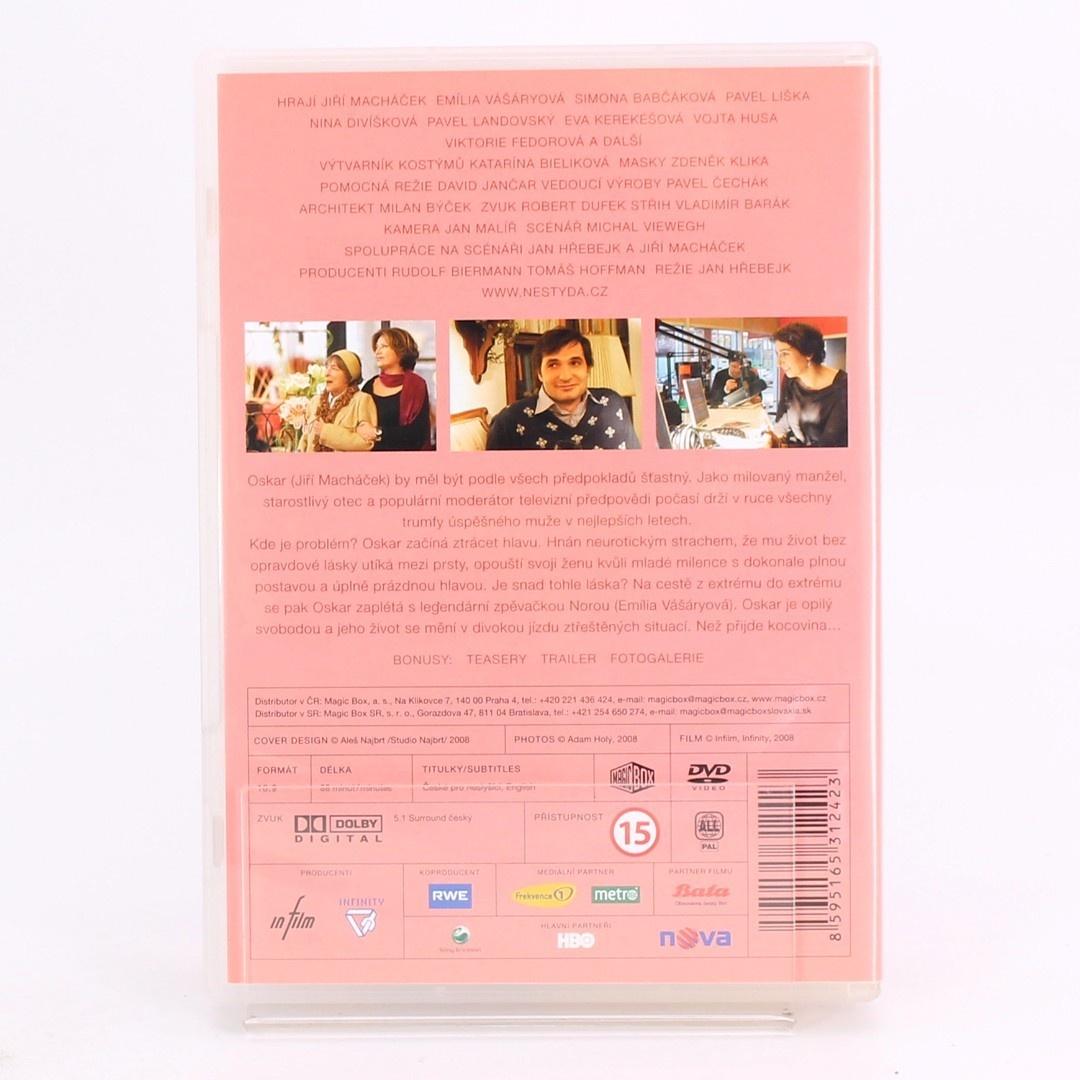8 filmů na DVD (Nestyda, Václav)