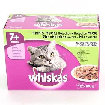 Kapsičky pro kočky Whiskas 12x100g 7+