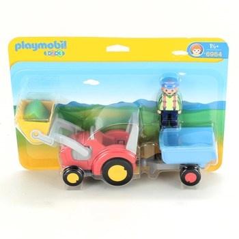 Traktor s přívěsem Playmobil 6964