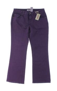 Dámské kalhoty John Baner fialové