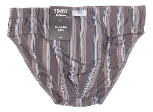 Pánské slipy 7Days Bodywear proužkaté