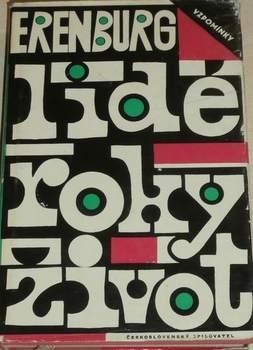 Kniha Lidé, roky, život Ilja Erenburg