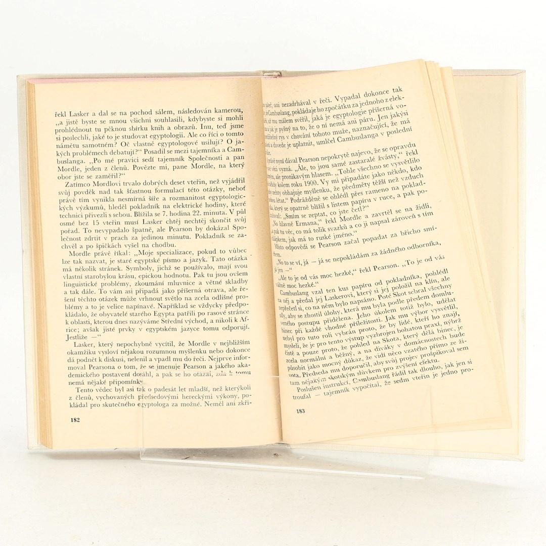 Kniha K. Amis: Egyptologové