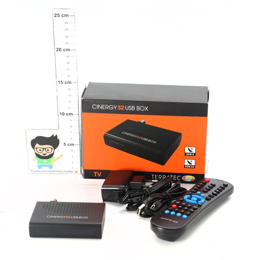 Digitální TV tuner DVB-S2 Ultron AG 134439