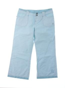 Dětské plátěné kalhoty Oxbow modré