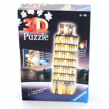 3D puzzle Ravensburger 12515 věž Pisa