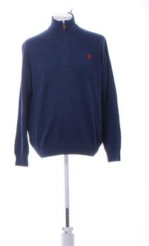 Pánský svetr U.S. Polo Assn.modrý L