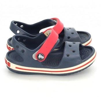 Modré dětské sandále Crocs
