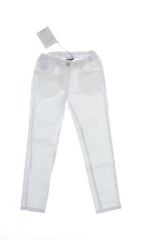 Dětské džíny Geox Respira bílé