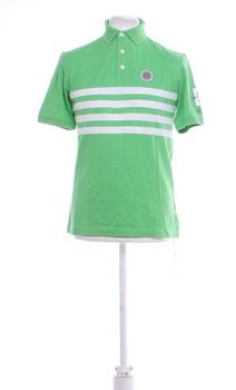 Pánské tričko EAC zelené s potiskem