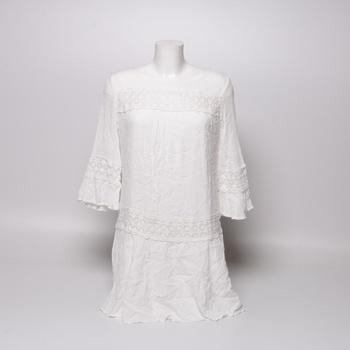 Dámské šaty Only bílé s krajkou