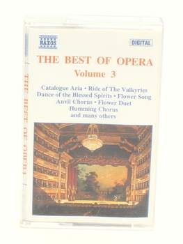 Audiokazeta The Best of Opera: Volume 3