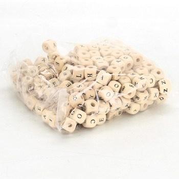 Navlékací kostičky s písmenky Small Foot