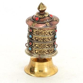 Tibetské buddhistické modlitební kolo