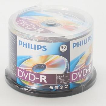 Balení DVD-R Philips DM4S6B50F 50 ks