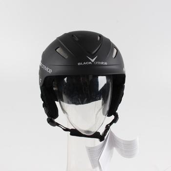 Lyžařská helma Black Crevice Ischgl černá