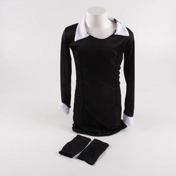 Dívčí kostým černo bílé barvy