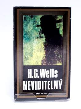 Kniha H. G. Wells: Neviditelný