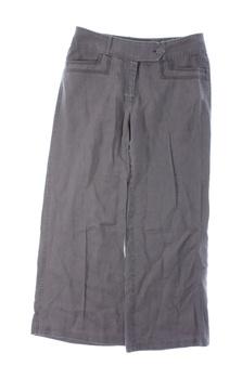 Dámské plátěné kalhoty Next šedé