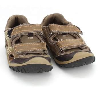 6c6d6628402c Dětské tenisky Bobbi Shoes hnědé